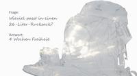 Rg rucksack montage 4 vorne
