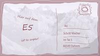 Wege e5 postkarte