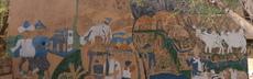 Wandbild i